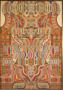 Sans titre, A. Lesage, 1946. (coll. Centre Pompidou, photo RMN)