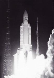 Décollage du lanceur Ariane 506